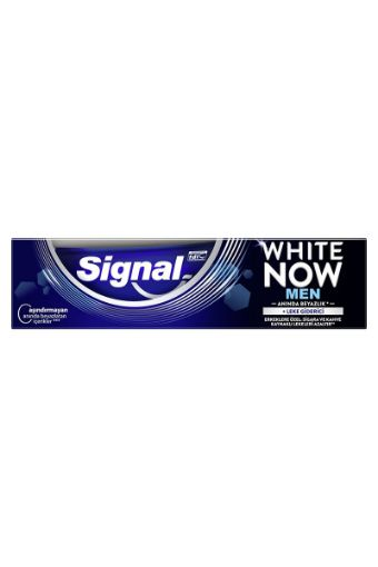 SİGNAL 75 ML WHITE NOW MEN DİŞ MACUNU resmi